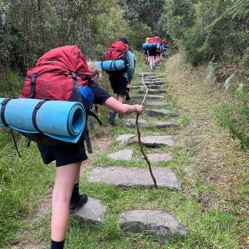 Adventure Plus school walk up bush trail